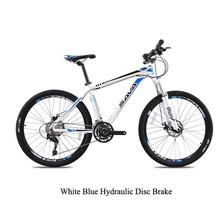 SAVA 26''Mountain Bike 30S Whole Bike Bicicleta mountain bike Aluminum Alloy Bicycle Frame&Double Disc Brake ,Bumblebee,3Colors(China (Mainland))