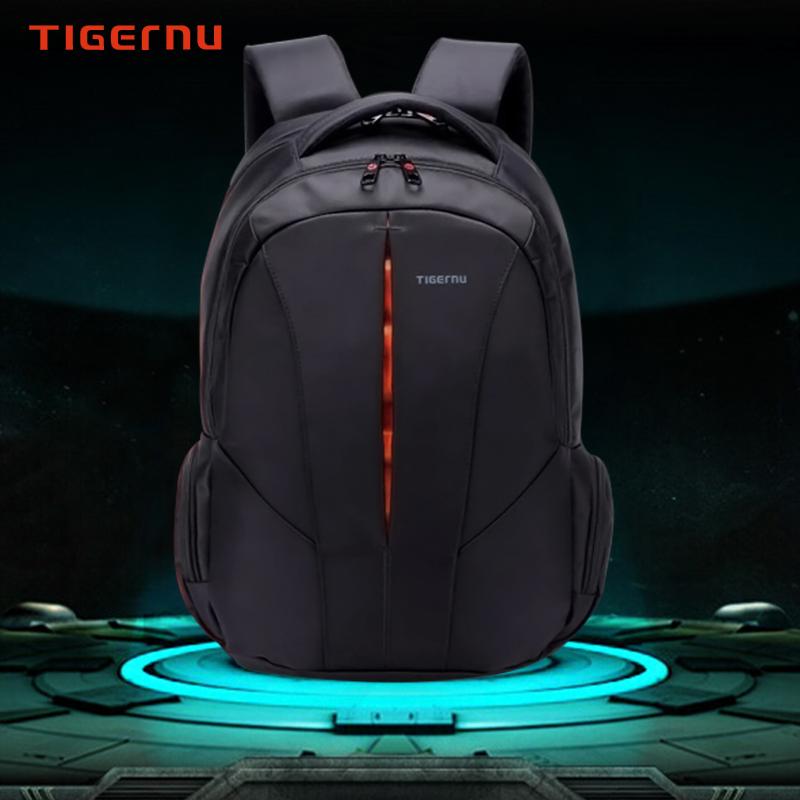 Tigernu Backpack Student College Waterproof Nylon Backpack Men Women Material Escolar Mochila Quality Brand Laptop Bag Backpack(China (Mainland))