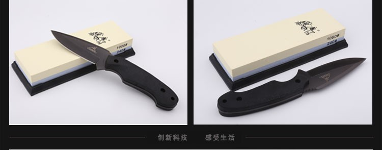 Buy TAIDEA Double-sided white corundum Stone 240#/1000#Grit Knife sharpener ,corundum sharpening stone cheap