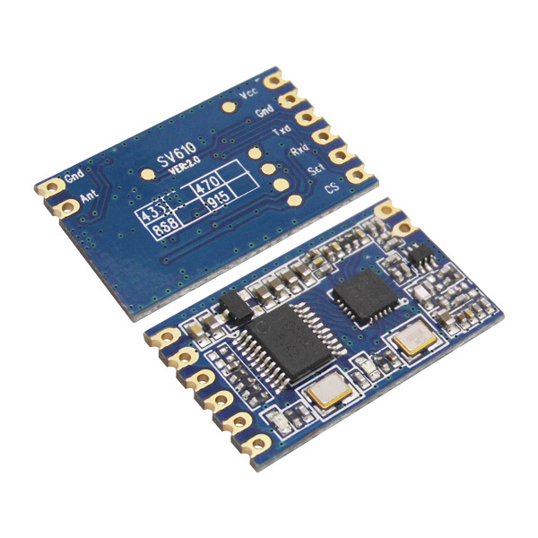 2sets/lot Module Kit SV610 with Spring Antenna High Performance 433MHz TTL Interface Wireless RF Transmitter Receiver Module(China (Mainland))