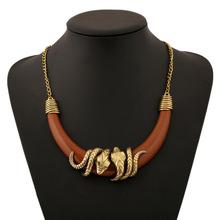 Snake Jewelry Necklace Choker Bracelet Scarf Holder Bendy Chain Twistable Shape Design(China (Mainland))