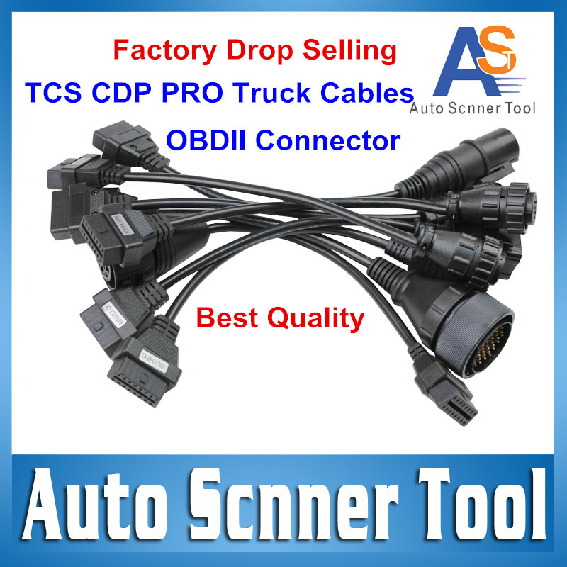 CDP Plus For DELPHI Truck Cables DS 150E Truck Cables 3 Year Warranty