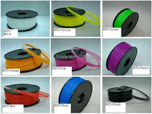 High quality 3d printer filament HIPS 1.75mm 1kg Consumables Material  Multiple color options