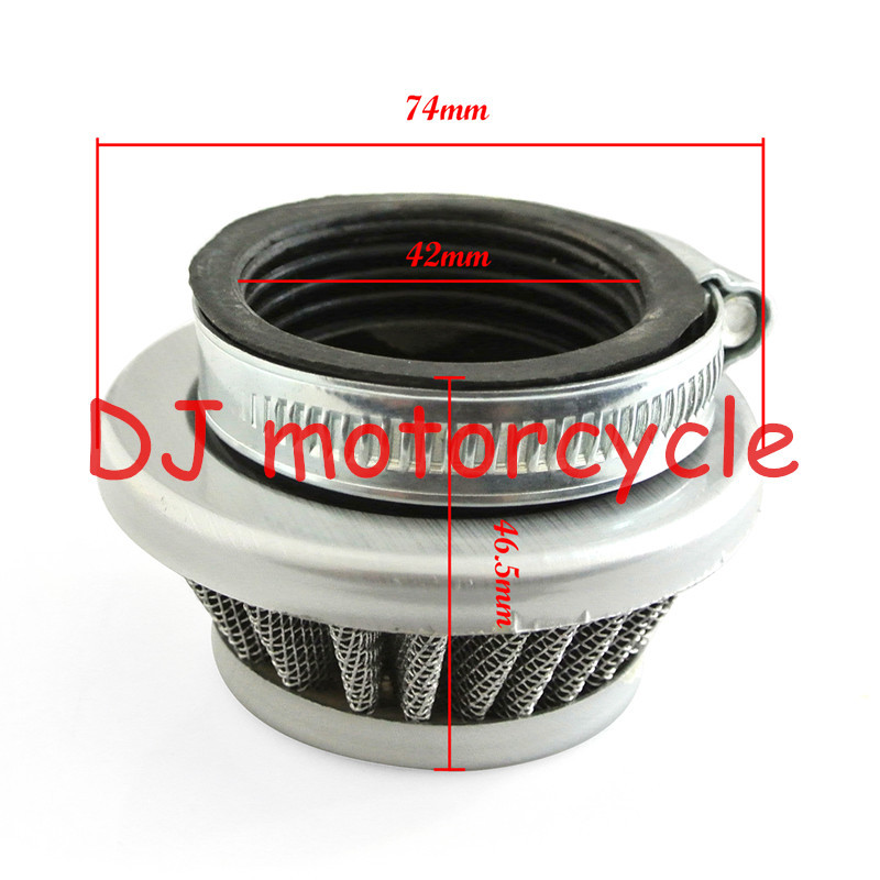 42MM Pocket Bike Mini Motor Quad Gas Scooter Motorized Bicycle Engine Air Filter Cleaner 33 49CC(China (Mainland))