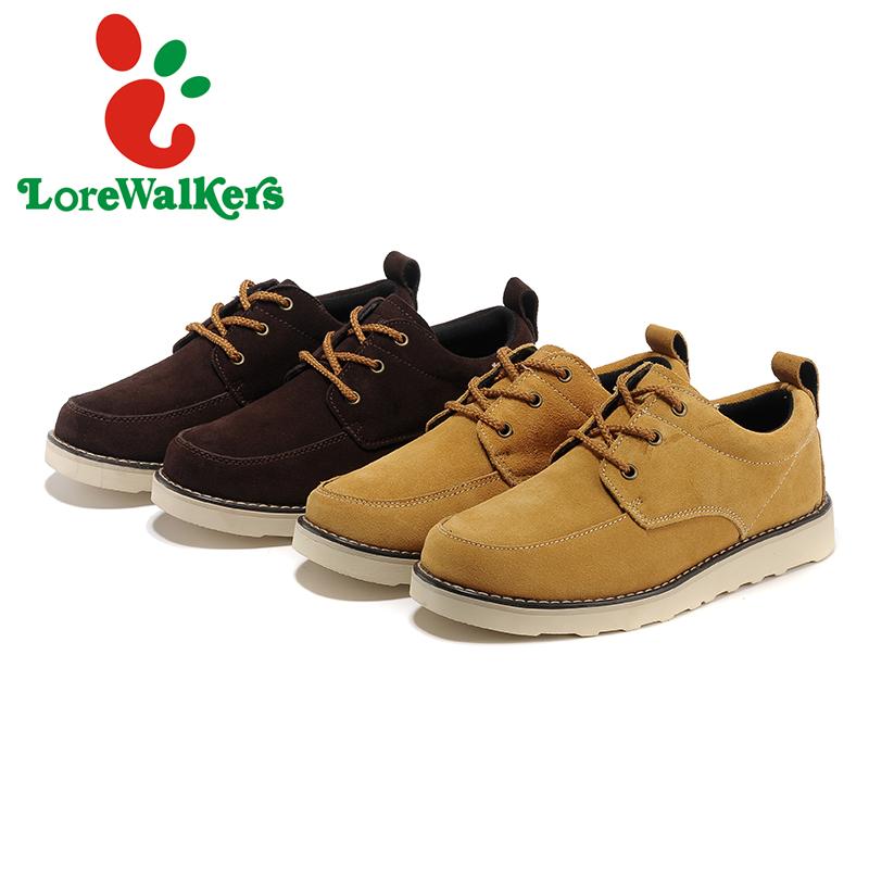 Оснастки обувь ежедневно свободного покроя вилочная часть натуральная кожа скейтбординг обувь низкая - верхний обувь