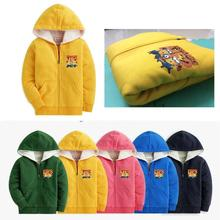 winter  cartoon minions jacket Long Sleeve jacket , Boys& girls Clothes despicable me 2 fleece zipper  jacket 5colors 2-10yrs(China (Mainland))