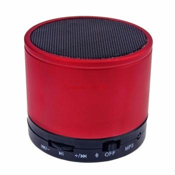 Stereo Metal Mini Portable Bluetooth Speaker Wireless Music Player Tf Card for PC iPhone for Samsung S10