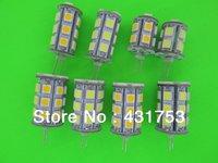 DC12V G4 led light 13 18 24 27 SMD 5050 led DC12V G4 bulb free shipping 5pcs/lot ( High Brightness )