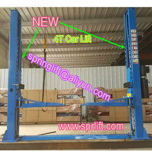 New Style 4 ton Outer lock double column car lift 4000Kg clear floor two column hydraulic car jack Model SP-C4000(China (Mainland))