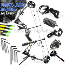 2015New Hunting bow&arrow set, HW1,hunting bow,bow and arrow set, archery set,compound bow arco e flecha ,free shipping
