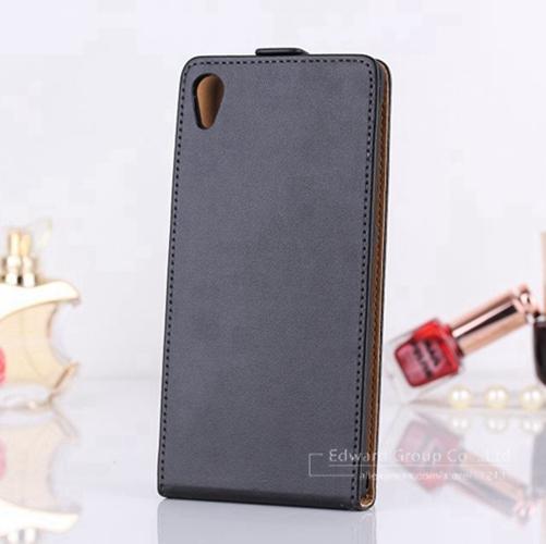 ! Luxury Genuine Leather Case Sony Xperia Z1 Honami C6906 C6903 C6902 C6943 L39h Flip Mobile Phone Bag Cover  -  OLLIVAN Headquarters Store store