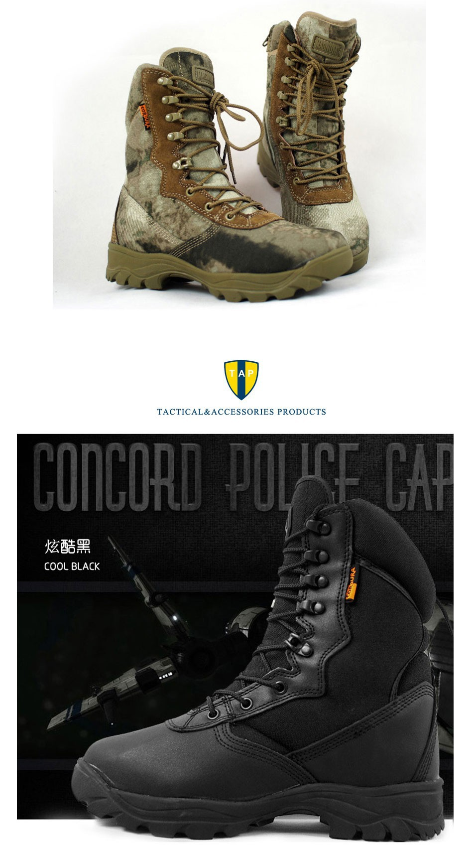 Gobon Military Desert BootsCombat Outdoor Army Botas Tactical