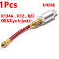 1pcs R134A R12 R22 Car Truck Auto Air Conditioning Refrigeration Oil Dye Injector oz Injection Tool