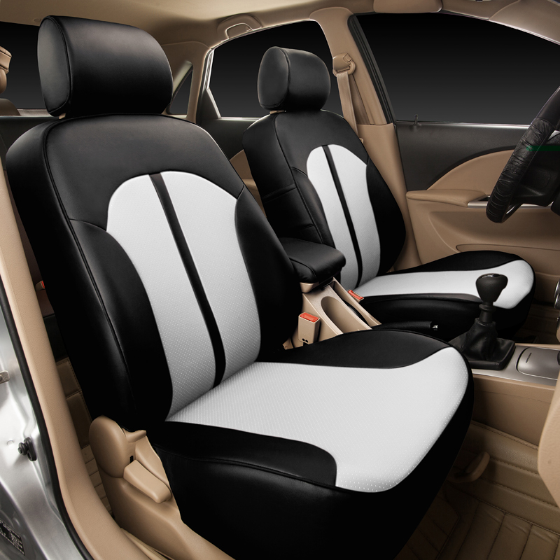 buy 100 custom fit covers seat for volvo v40 2016 2013 accessories pu leather. Black Bedroom Furniture Sets. Home Design Ideas