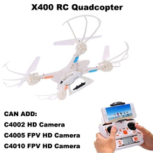 MJX X400 RC Quadcopter(Lynrc Special Edition) Drone 2.4G 4CH RC Helicopter Can Add C4002 HD Camera/C4005/C4010 FPV HD Camera(China (Mainland))