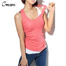 2016 Summer Women Tank tops Cotton camis o-neck tight-fitting thread vest women Cheap camisole Camis 17 colors(China (Mainland))