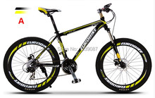 XJC-3 New Updated 27 Speeds Mountain Bike 6061 Aluminum Frame Disc Brake(China (Mainland))
