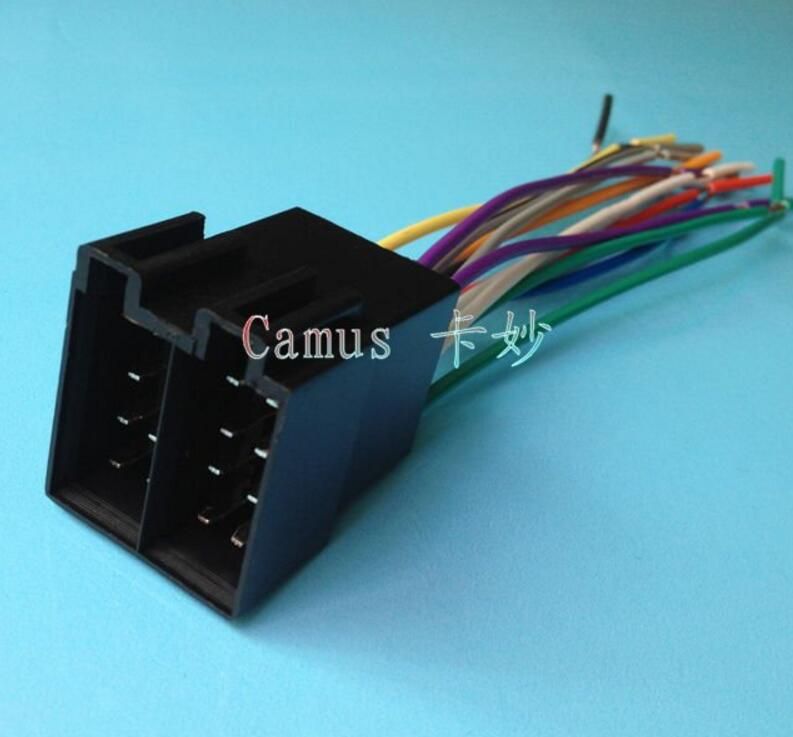 online get cheap 5 wire harness aliexpress com alibaba group 5 set universal female iso radio wire wiring