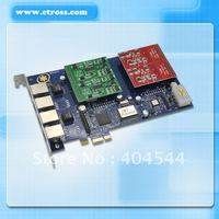 Asterisk 4 port fxo fxs pci express card