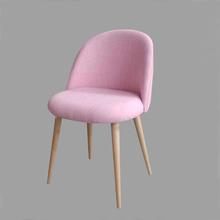Leisure Cafe Chair Birch Wood Legs Foam Fill Seat(China (Mainland))