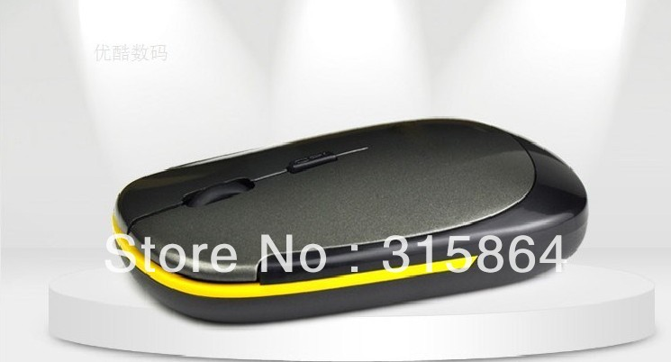 Free shipping Top Selling 2.4G usb wireless mouse mice 7M working distance 2.4G receiver super slim mouse(China (Mainland))