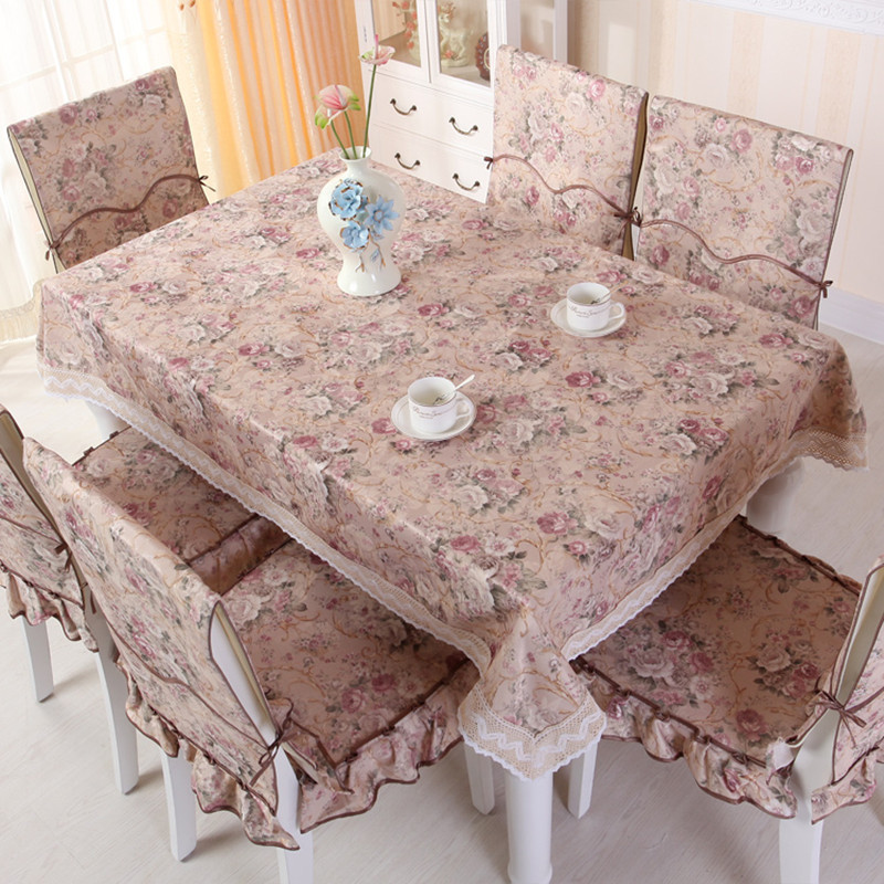Spring scenery garden tablecloth(China (Mainland))
