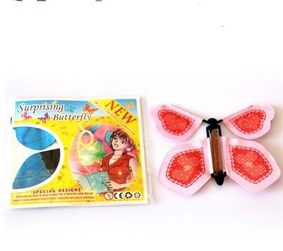 30pcs magic butterfly flying butterfly change with empty hands freedom butterfly magic props magic tricks(China (Mainland))