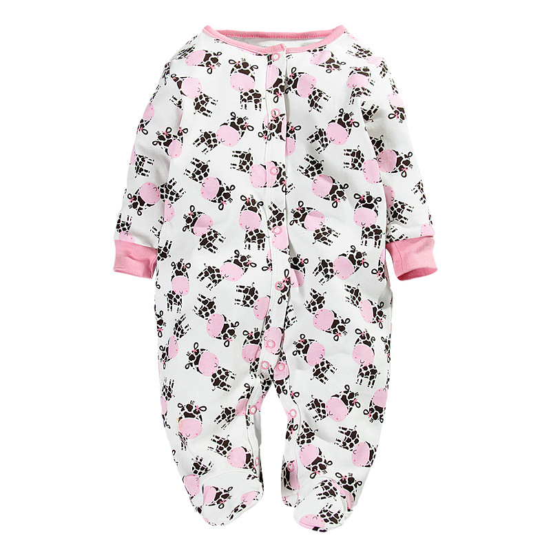 Autumn 100% Cotton Carter Baby Bodysuit Casual Infant Jumpsuit Overall Long Sleeve Body Suit Baby Clothing Free Shipping(China (Mainland))