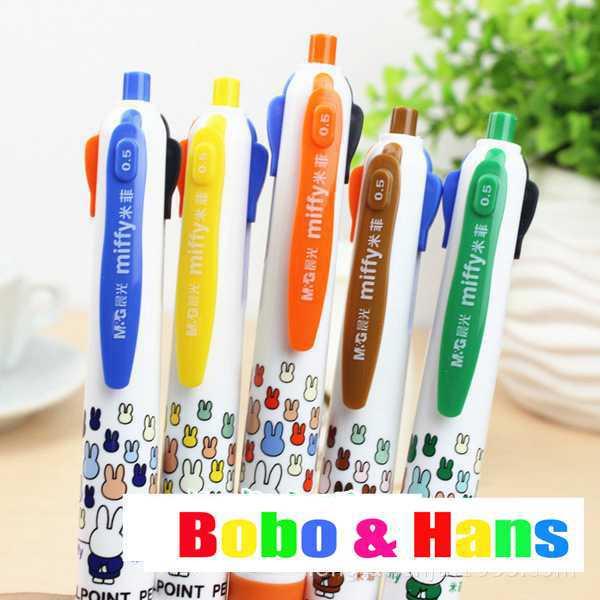 stylo 4 couleurs mignon