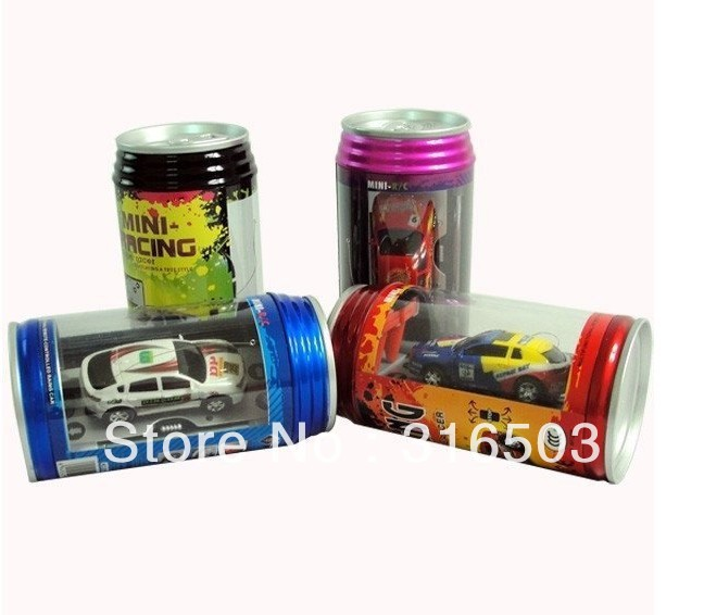 4pcs/lot Magic Touring rc car 1:63 scale Coke Can rc mini car Radio Control High Quality for kids gift Free Shipping(China (Mainland))
