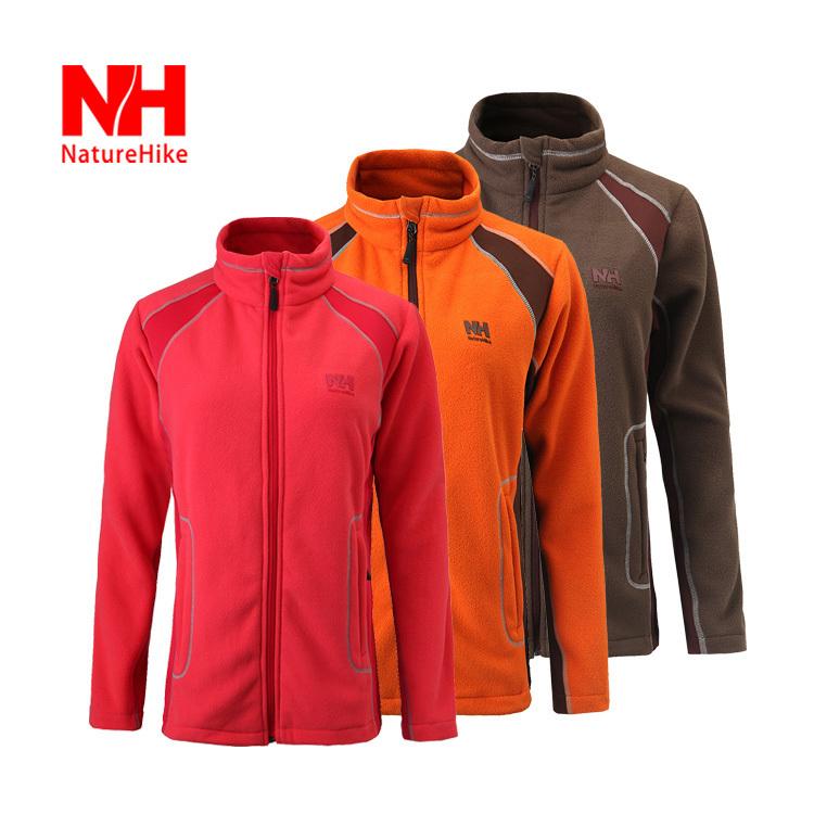 NatureHike-Autumn Winter Antistatic Women Warm Cardigan Jacket Liner Thickening Fleece Soft Shell Jacket Outdoor Fleece Jacket <br><br>Aliexpress