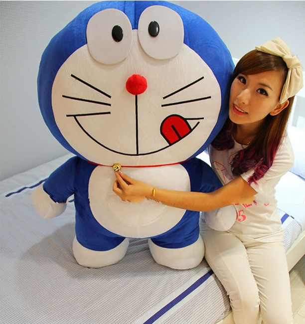 1 PCS 80cm Super cute Doraemon plush toy,plush toys,high quality ,2 styles<br><br>Aliexpress