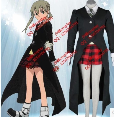 free shipment Soul Eater Evans SOULEATER Cosplay Costume female woman(China (Mainland))