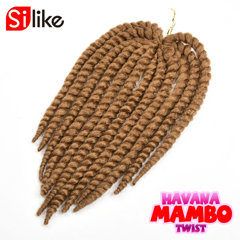 New Crochet twist Havana Mambo Hair High quality synthetic fiber Same Weight but more volume hair and more Soft more Fluffy<br><br>Aliexpress