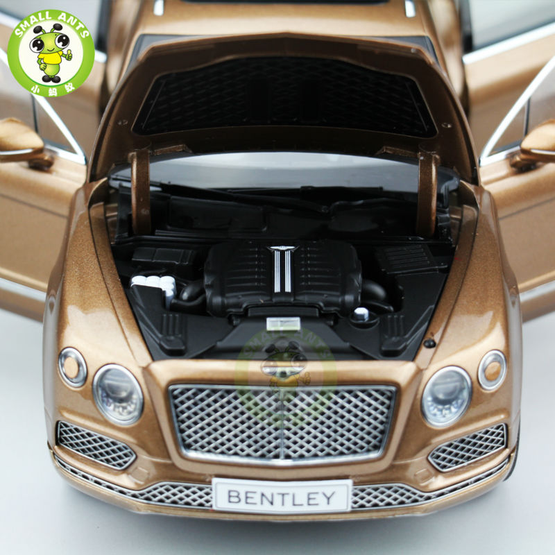 1:18 Scale Kyosho Bentley Bentayga Diecast SUV Automotive Mannequin Brilliant Bronze 08921