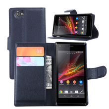 Buy New Wallet PU Leather Case Sony Xperia M Dual C1905 C1904 C2004 C2005 4.0 Magnetic Flip Cover Fundas Holder Stand Phone Bag for $3.39 in AliExpress store
