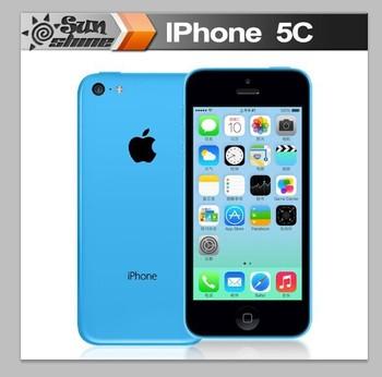 """Iphone5c разблокирована оригинальный Apple , iPhone 5c мобильный телефон 4 """" Retina IPS используется телефон 8MP смартфон GPS IOS сотовые телефоны"""