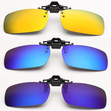 Buy Unisex Polarized Clip Sunglasses Driving Night Vision Lens Anti-UVA Anti-UVB Cycling Fishing Sunglasses Clip for $5.39 in AliExpress store