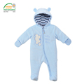 Baby Footies Jumpsuit Hat Shoes Hooded Baby Snowsuits Oeko tex 100 Certified Outfits 0 18 Months