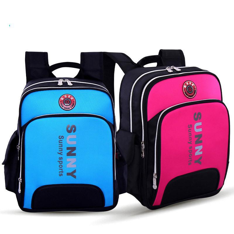 Retail High Density NyloPrimary School Bags Waterproof Children Backpacks Kids School Bag Size 29*14*38cm Free Shipping A004(China (Mainland))