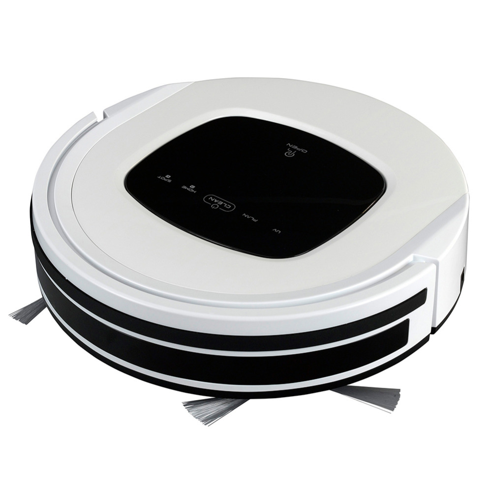 Smad New Robot Vacuum Cleaner Pets & Allergie Automatic Sweeping Dust Robot vuccum Brush Cleaner Intelligent Home Vacuum Sweeper(China (Mainland))