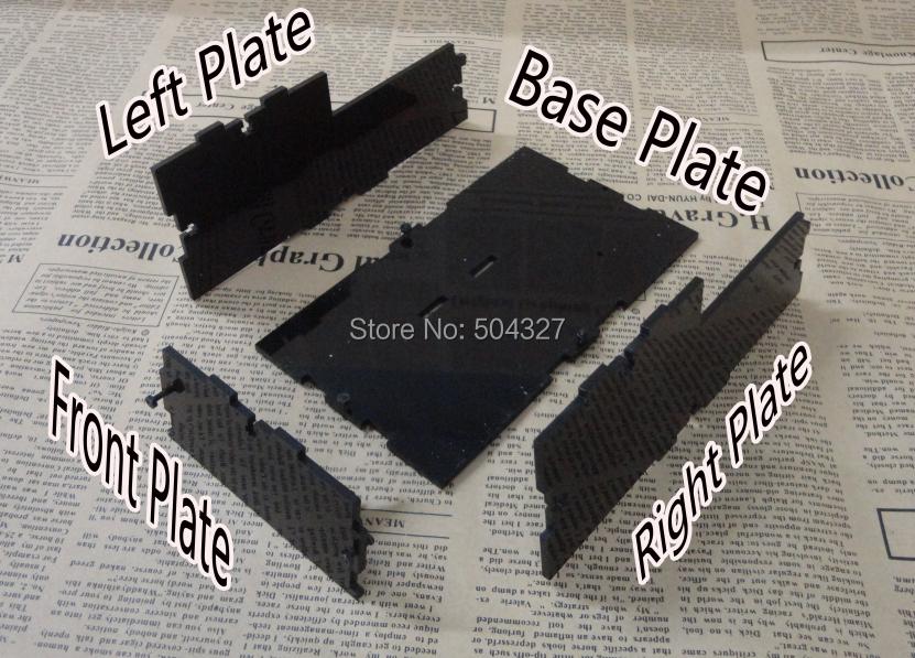 Free Shipping 1Set Useless Box Kit Black and Fully Assembled Leave me alone(China (Mainland))