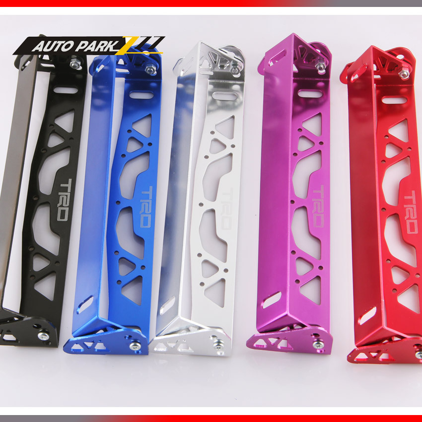 FREE SHIPPING TRD ALUMINUM LICENSE PLATE FRAMES FRAME TAG HOLDER FOLDABLE(China (Mainland))