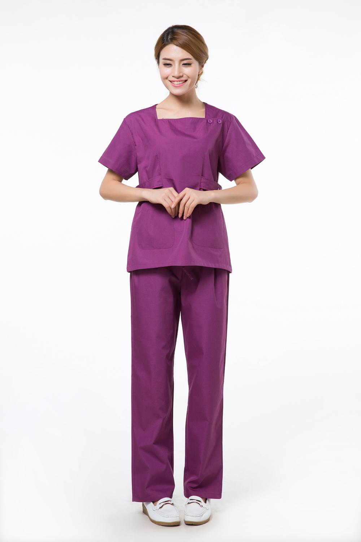 2015 OEM hospital scrub sets uniforme medico medical nurse clothing factory direct sale(China (Mainland))