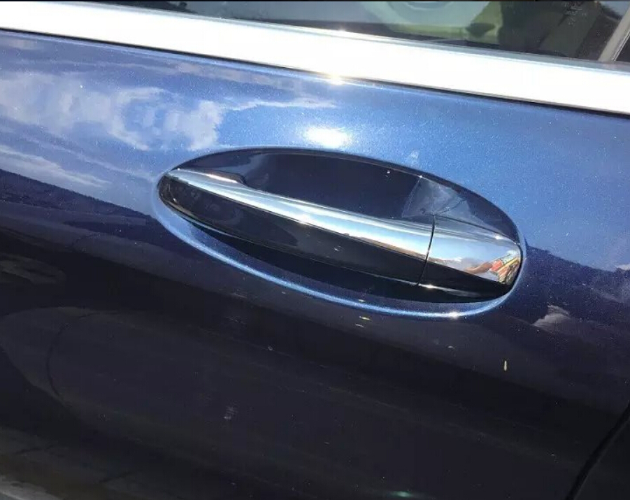 NEW!!  Chrome Slim Door Handle Cover Trim For Mercedes Benz C292 GLE Coupe GLE320 GLE350d GLE400 GLE450 Coupe Only !