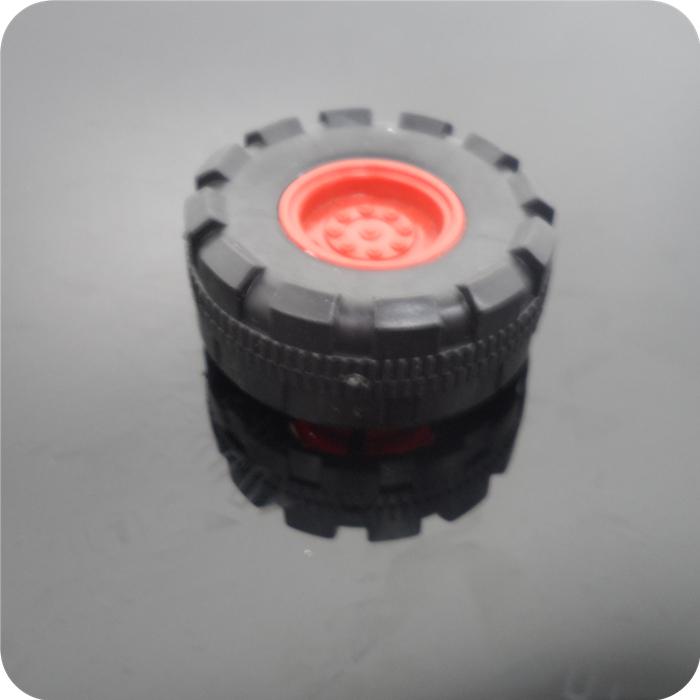 42mm Model Car Small Rubber Wheels DIY model RC Four-wheel wheel, Technology small production accessories tires(China (Mainland))