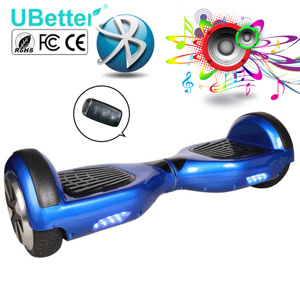 Wholesale Hover Board Scooter Bluetooth Speaker 2 Wheel Electric Standing Scooter Original Battery UBetter N1-6.5INCHC(China (Mainland))
