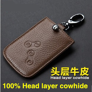 buy muti color genuine leather key case renault talisman lacuna megane latitude scenic fluence. Black Bedroom Furniture Sets. Home Design Ideas