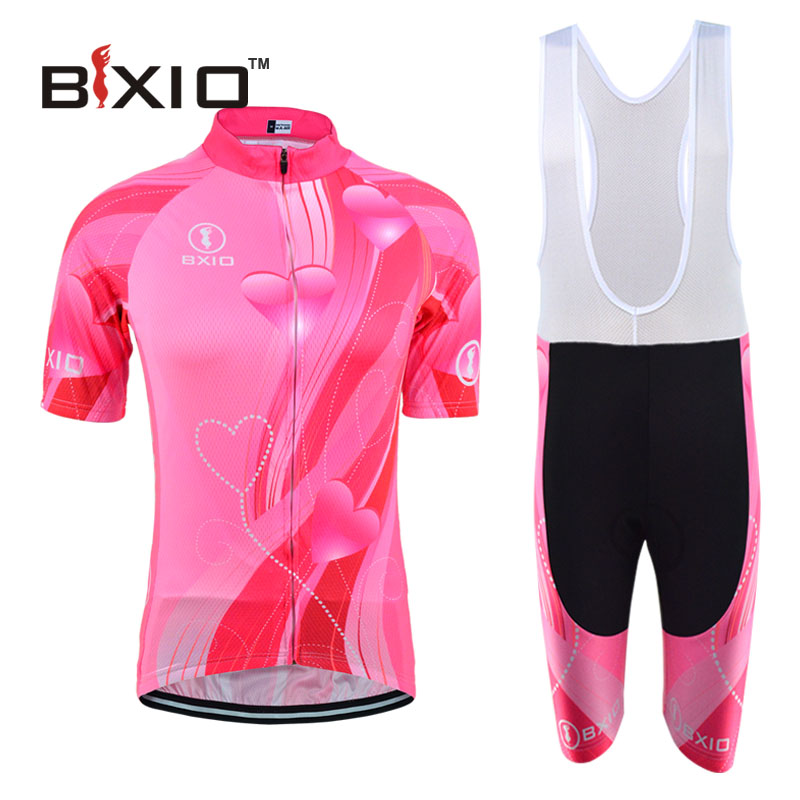 Bxio Women Fluorescence Cycling Jerseys Bicycle Short Sleeve Road Bike Clothing Ropa Ciclismo Equipacion Maillot Ciclismo 123(China (Mainland))