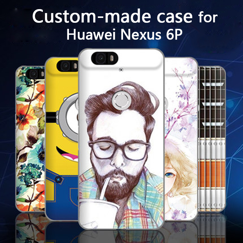 For Huawei Nexus 6P case Unique and 3D cartoon custom made painted back cover case for